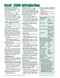 img - for Excel 2008 for Mac: Introduction Quick Reference Guide (Cheat Sheet of Instructions, Tips & Shortcuts - Laminated Cards) book / textbook / text book