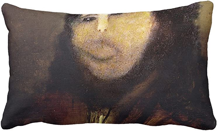 Zazzle Funny Botched Ecce Homo Painting Meme Throw Pillow 13 X 21 Amazon Ca Home Kitchen