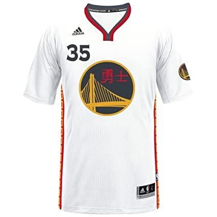 4ba1a9e5672 adidas NBA Men's-Kevin Durant #35-Golden State Warriors-Swingman Jersey-