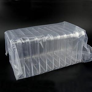 BIPEE Polystyrene Petri Dish, Sterile, Pack of 10 (Square, PetriDish13x13)