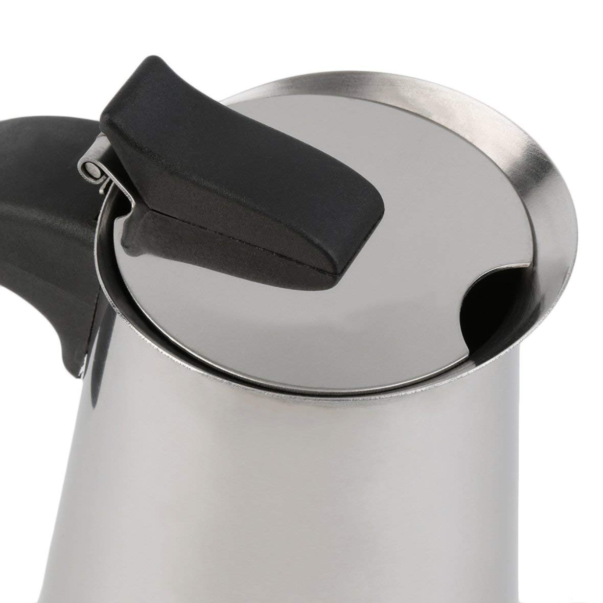 Heaviesk Kaffeekanne Percolator Herd Top Kaffeemaschine Moka Espresso Latte Edelstahl Topf