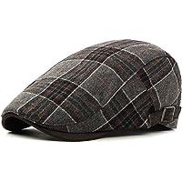 b08a2777 Men's Newsboy Gatsby Hat Vintage Beret Flat Ivy Cabbie Driving Hunting Cap  for Boyfriend Gift