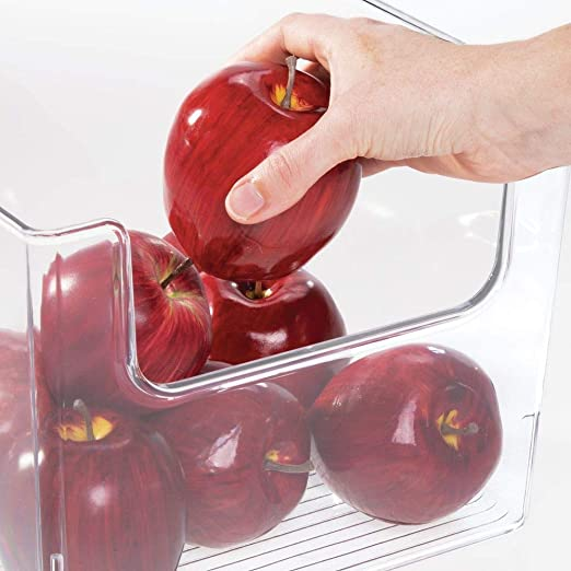 mDesign Caja de almacenamiento de alimentos – Organizador de ...