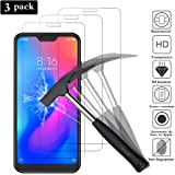 "ANEWSIR 【3 Pack】 Compatible with Xiaomi Mi A2 Lite (5.84"") Screen Protector, Tempered Glass Screen Protector for Xiaomi Mi A2 Lite/Xiaomi Redmi 6 Pro [Ultra Slim] [High Clear] [Scratch-Resistant]."