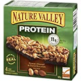 Nature Valley Peanut Almond & Dark Chocolate Flavour Chewy Protein Bars, 4-
