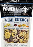 Gourmet Nut Power up 100% All Natural Health Mix High Energy Trail Mix - Large Resealable 26oz Bag