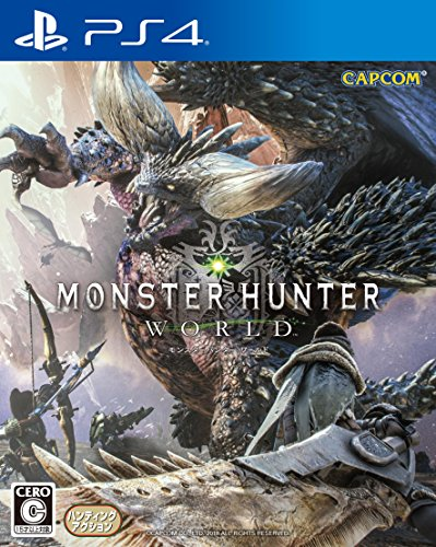 Monster Hunter  World Playstation 4 Japanese Ver