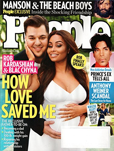 People Magazine September 12 2016 | Rob Kardashian – Blac Chyna