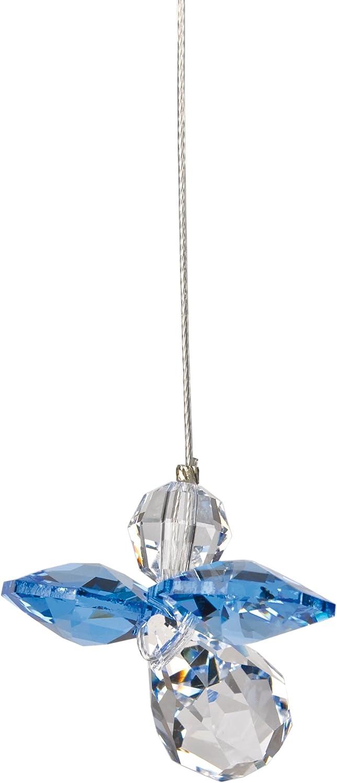 Tierra Zen CG08 Ange Gardien de Cristal Ao/ût P/éridot Transparent 16 cm