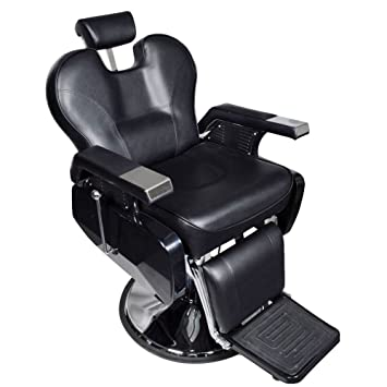 Real Relax Salon Hydraulic Recline Barber Chair Beauty Sh&oo Spa chair All Purpose Black  sc 1 st  Amazon.com : reclining spa chair - islam-shia.org