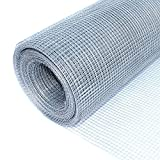 ALEKO Mesh Wire Roll Cloth 23 Gauge Steel 40 Feet Long 40 Inch Height 1/4 Inch Mesh