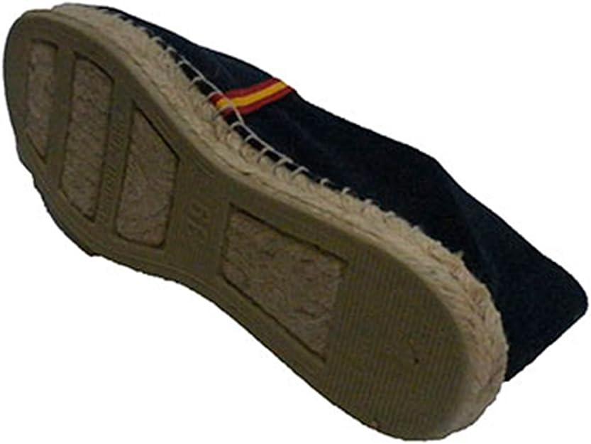 Alpargatas de Esparto Bandera de España Made in Spain en Azul Marino: Amazon.es: Zapatos y complementos
