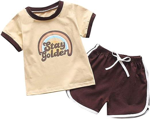 NEW BABY GAP Gap Kids Girls 2 Piece PJ Pajama Long Sleeve Baby Blue Rainbow 5T 5