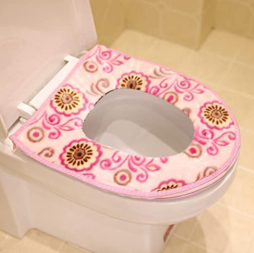 Longless Zipper wc establece WC WC pastillas de cojín de ...