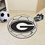 FanMats University of Georgia Soccer Ball Rug