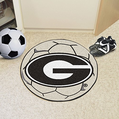 FanMats University of Georgia Soccer Ball Rug by Fanmats