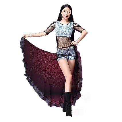 C&X Mujer Adulto Danza del Vientre Traje Ropa De Ejercicio ...