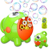 Bubble Machine, Bubble Toy for Kids Automatic Bubble Machine 3000 Bubbles Per Minute, Durable Bubble Blower for Kids…