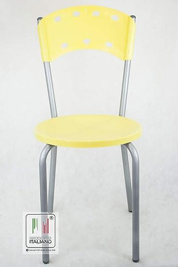 Stil Stühle – Stuhl Küche Bar Restaurant Typ Sun gelb: Amazon.de ...