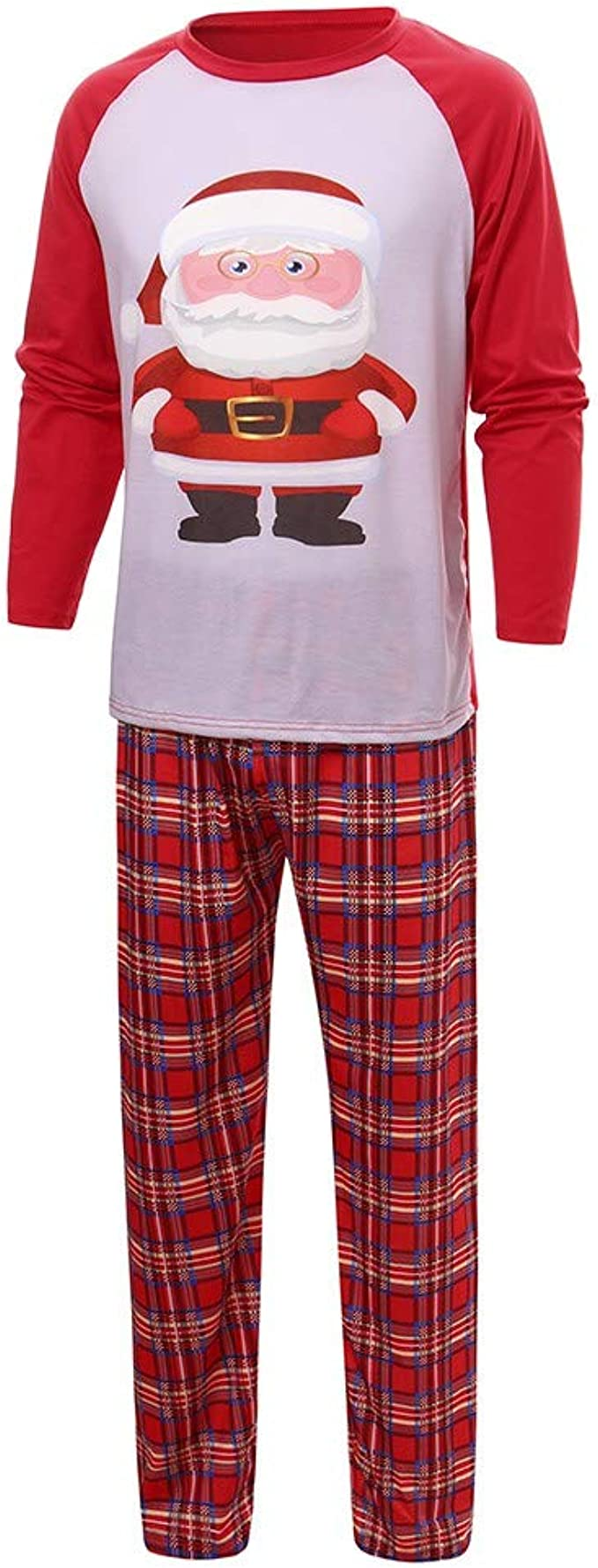 Trisee Conjunto de Pijama Navidad Familia, Camiseta Estampada ...