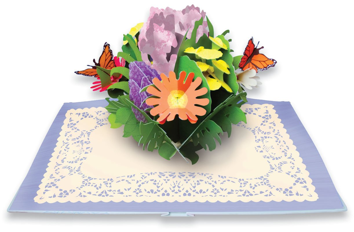 Paper Blossoms: A Book of Beautiful Bouquets for the Table: Ray ...