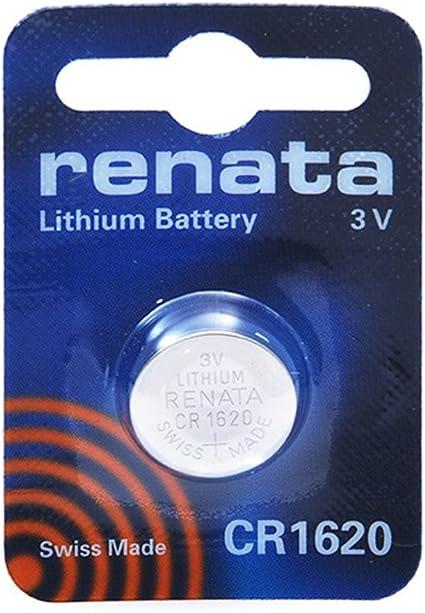 Renata Knopfzelle Batterie Cr1620 3v 1 Pack Elektronik
