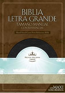 RVR 1960 Biblia Letra Granda Tamano Manual