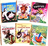 download ebook little golden book classic six book set:the poky little puppy, tawny scrawny lion, tootle, the saggy baggy elephant, my first counting book and scuffy the tugboat pdf epub