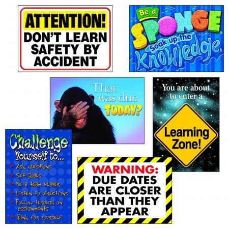 - Trend Enterprises Inc. T-A67933 Learning Zone Argus Poster Combo Pk