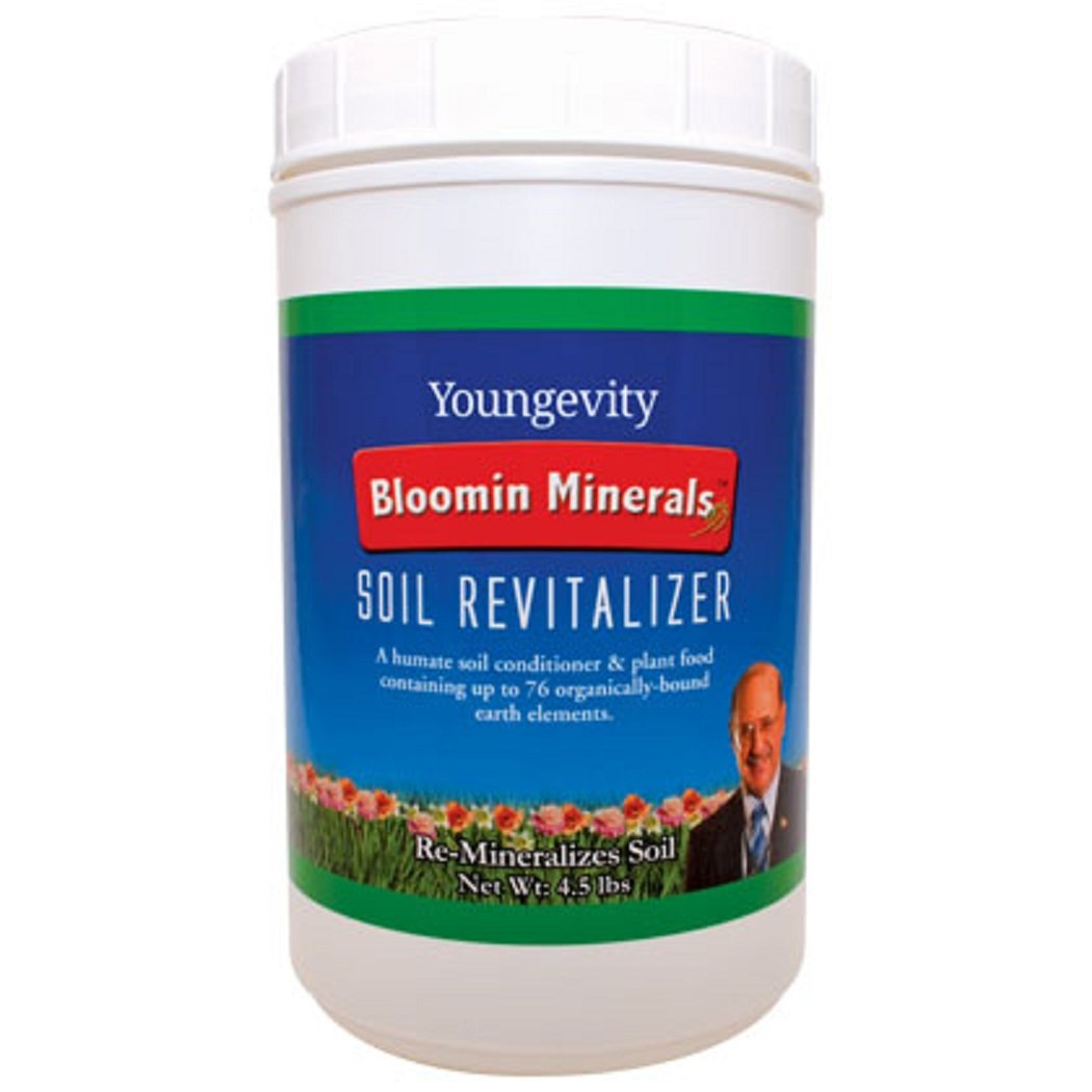 Amazon.com: Bloomin Minerals Soil Revitalizer - 4.5 LBS - Youngevity ...