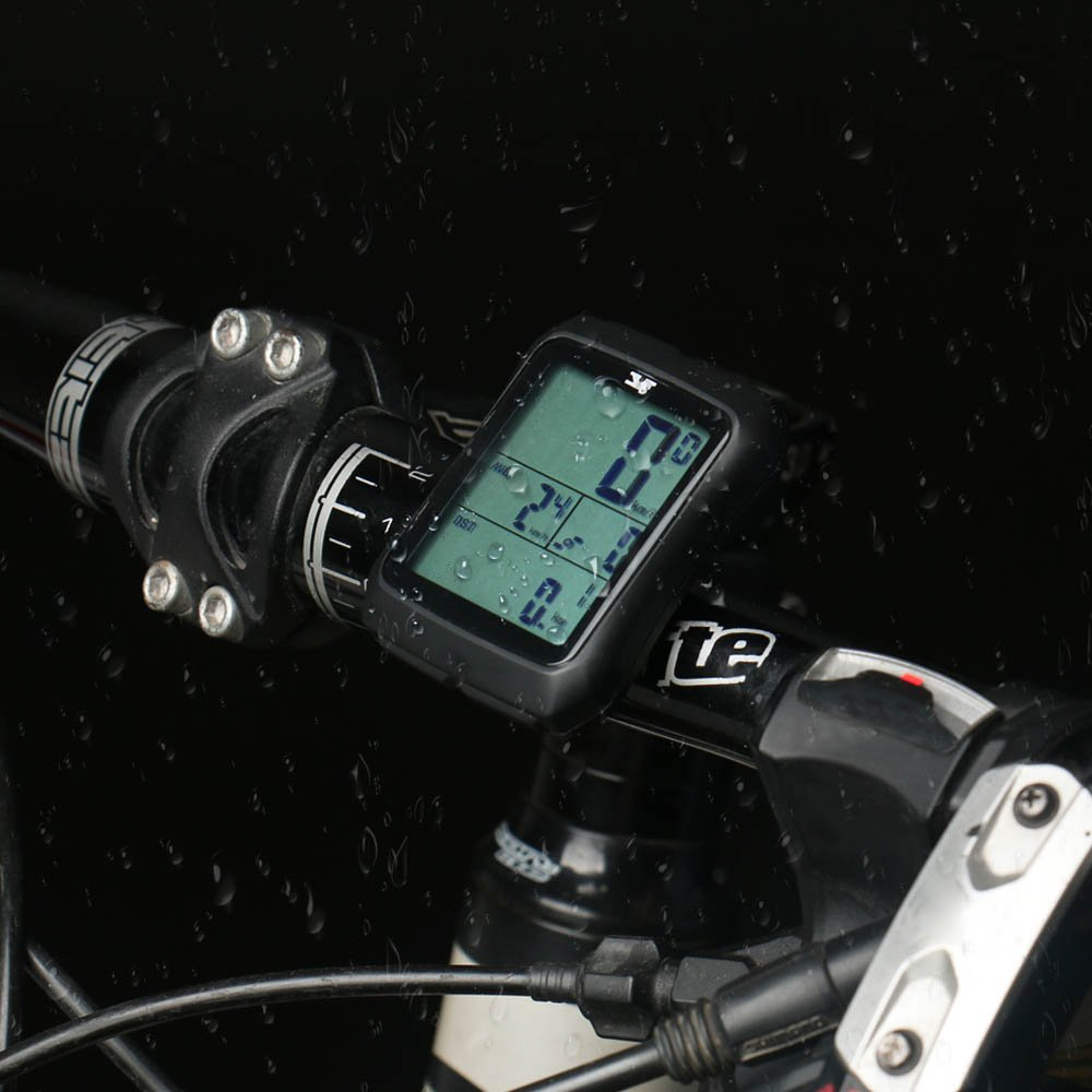 007KK Bike Speedometer Waterproof Wireless Bicycle Bike Computer and Odometer with Cadence Sensor for Outdoor Cycling and Fitness by 007KK (Image #6)