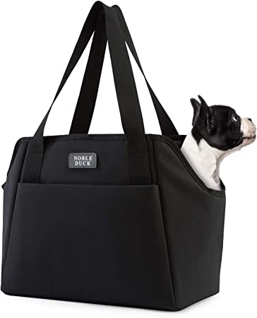 NOBLE DUCK Small Dog Carrier Purse - Subtle Easy-to-Style Design