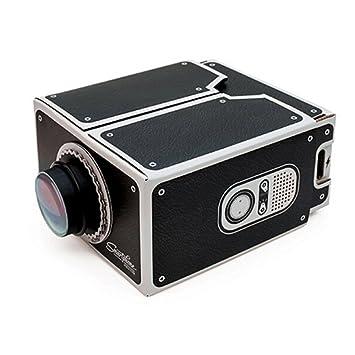 OSOYOO - Proyector de de Smartphone de Cartón con Zoom 8x para ...