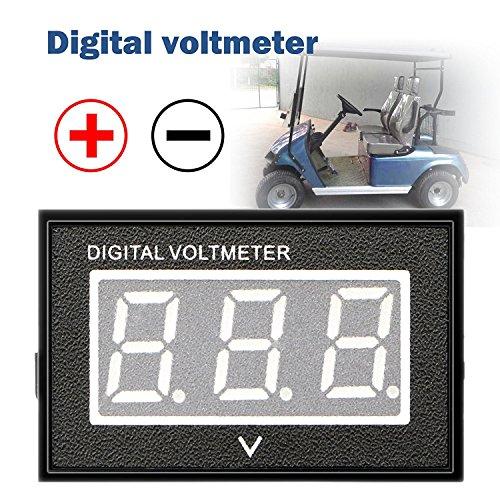 golf cart digital meter - 7
