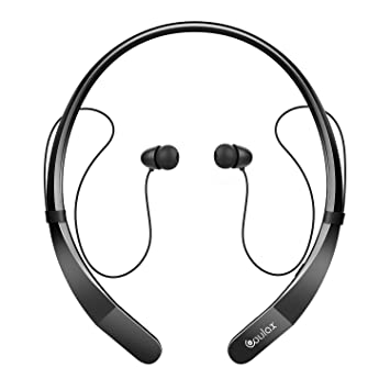 3a1e9b0ab63 COULAX Bluetooth Headphones CX07 Wireless Neckband Bluetooth Headset Stereo  In-Ear Earbuds with Mic for