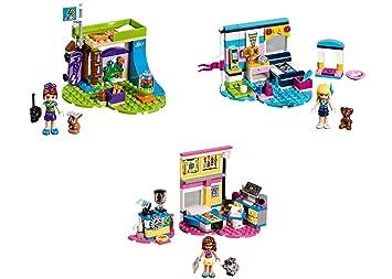 Lego Friends 2018 Bedrooms Mias Bedroom Stephanies Bedroom