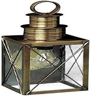 product image for Brass Traditions 221 SXDB Medium Wall Lantern 200 Series , Dark Brass Finish 200 Series Wall Lantern
