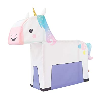 Antsy Pants Build and Play Unicorn Kit Poles, Connectors, and Fabric Cover Included: Toys & Games