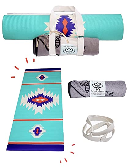 Amazon.com : Bfree Apparel Yoga Gift Set + 3 PCE + Mat + Hot ...