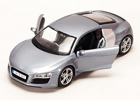 Audi R8, Metallic Blue   Maisto 34281   1/24 Scale Diecast Model Toy