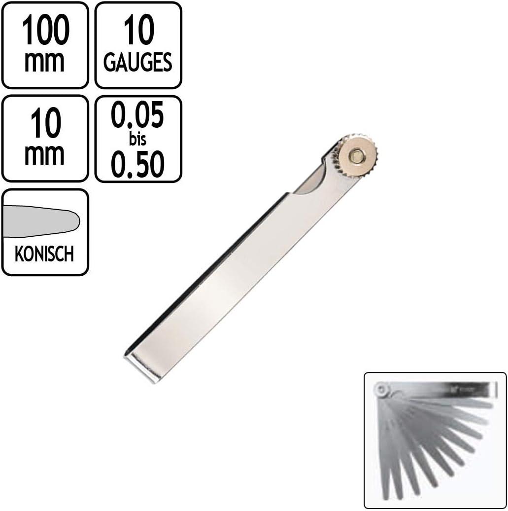 Abstandslehre Fühlerlehren Fühllehre tlg Motorrad Fühlerlehre 0,05-1,00 Mm 17