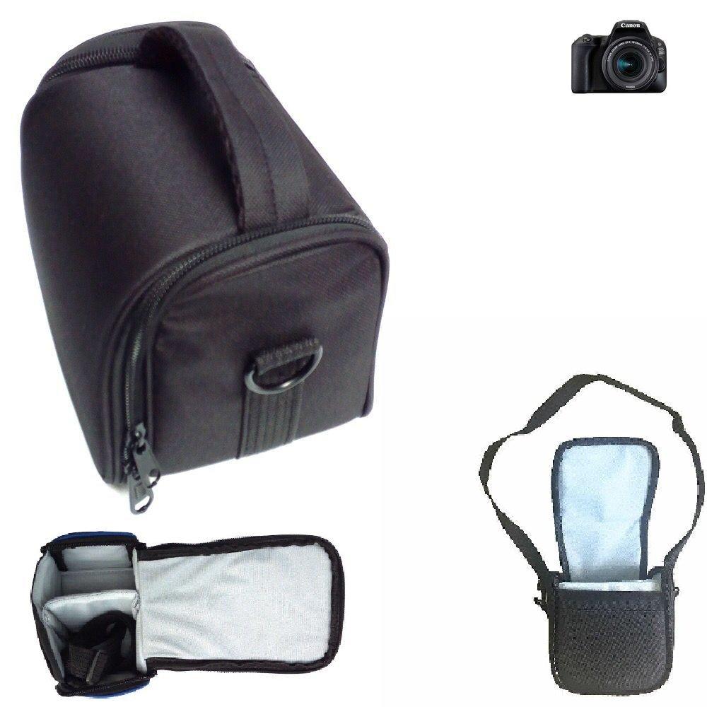 Para Canon EOS 200D: Bolso de hombro / Bolsa de transporte cámara ...