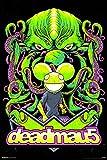 Deadmau5 Green Alien Canadian Progressive House Music Electronica Poster 18x12