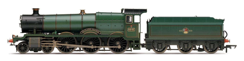 Hornby Hornby Hornby 00 Gauge 253 mm verwitterter paviland Grange Dampflokomotive Zug Modell 652323