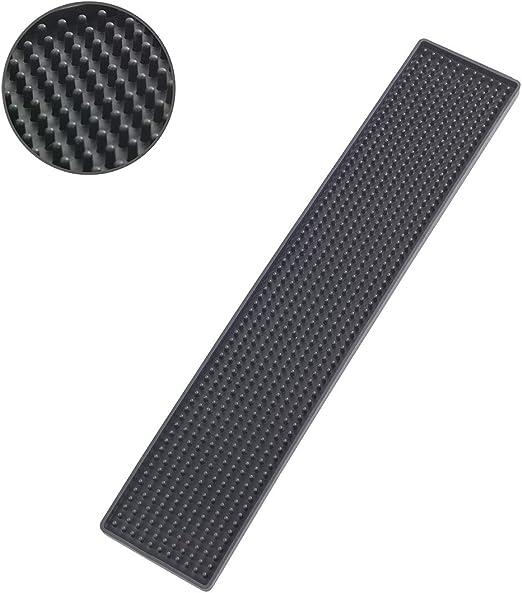 Elast/ómero Termopl/ástico 8x42x3 cm Wenko Tapete Escurridor Slim Negro