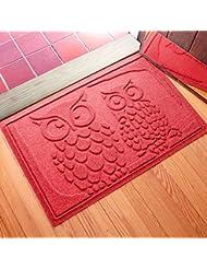 Aqua Shield Owls Doormat, 2\