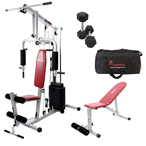 Lifeline all in one hg home gym equipment amazon sports