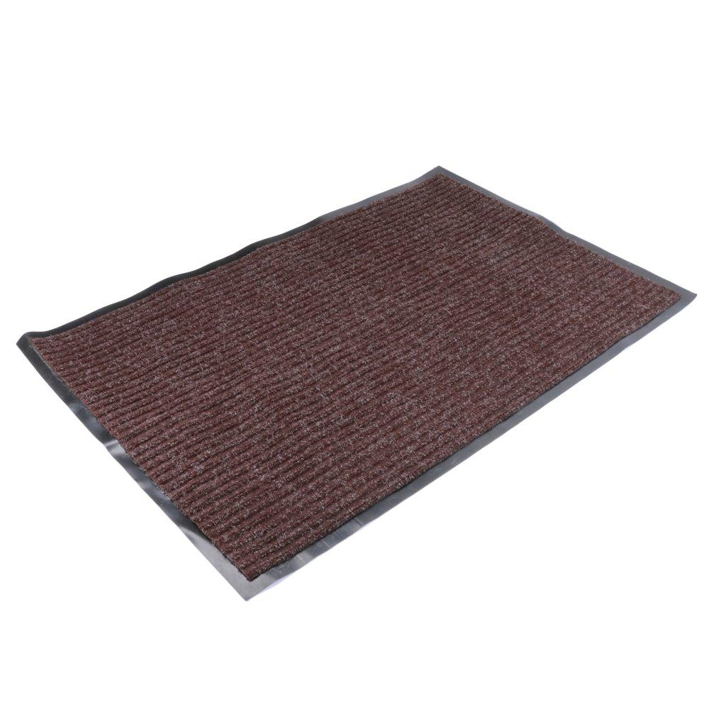 fani Front Door Entry Mat for Home Waterproof Coffee Outdoor Doormat, 60x90cm (Coffee)