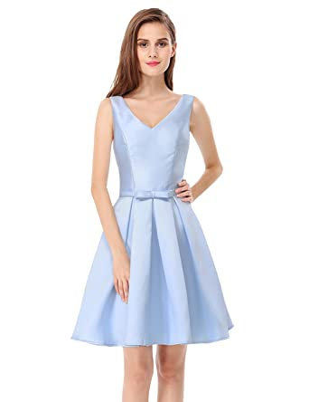 6f1ac40bf3a Ever-Pretty Womens Sleeveless V Neck Bridesmaid Dress at Amazon ...