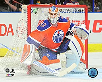 56ca4e3ce Image Unavailable. Image not available for. Color: Cam Talbot Edmonton  Oilers ...